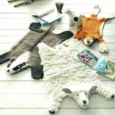 animal hide shaped rugs print faux picture felt someone should make these as floor cushions to