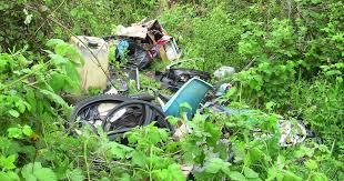 Rubbish, <b>motorcycle parts</b> and <b>engine oil</b> dumped near Emersons ...