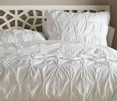 white pintuck comforter set
