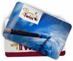 painting with a twist gift cards wine