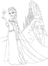 Printable Coloring Pages Of Frozen Characters Printable Cartoon