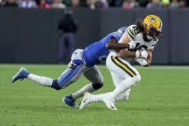 Rashaan Melvin, Jake Kumerow - Rashaan Melvin and Jake Kumerow Photos -  Detroit Lions v Green Bay Packers - Zimbio