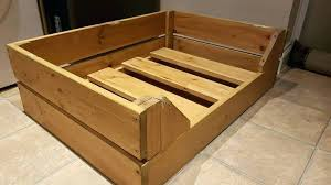 medium large wooden dog beds bed crate