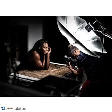 repost platon bts of serenawilliams for wired studio lighting setupsstudio setupphotography
