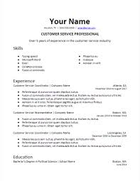 Skill Resume Templates Hospinoiseworksco Skills Resume Template Best