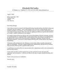 Cover Letter Business Good Business Cover Letter Mockatoo Com