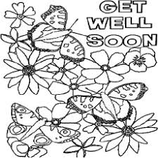 Get Well Soon Coloring Pages Coloring