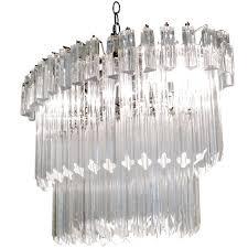 vintage italian murano glass chandelier camer at 1stdibs intended for stylish home italian murano glass chandelier prepare