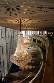 chandeliers at the dorothy chandler pavilion