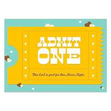 Admit One Invitations Cards On Pingg Com
