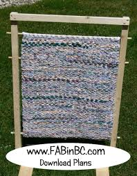 rag rug weaving loom plans