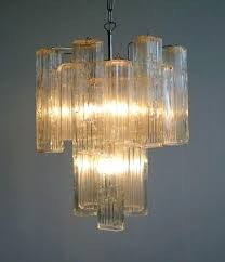 vintage glass chandelier from 2 cool venetian 1stdibs