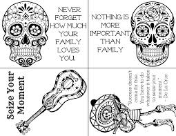So how did you find the day of the dead coloring pictures? 5 Free Day Of The Dead Printables To Honor Latino Traditions