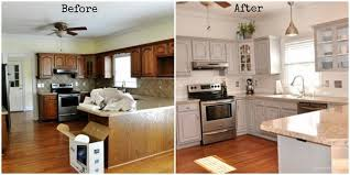 painting cabinets white before and afterPainting Wood Kitchen Cabinets White Before Interest Paint Kitchen
