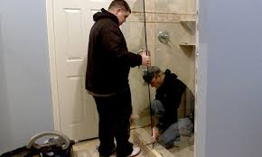 8 steps to remove shower doors