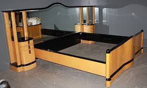 Keystone Art Deco Bed This Custom Art Deco Bed Is Made Of Quilted Maple,  Birdseye Maple, And Wenge | Art Deco Furniture | Pinterest | Art Deco Bed,  ...