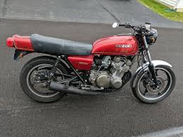 1979 suzuki gs750 cafe racer custom