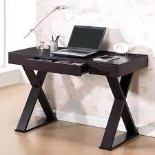 Designer home office desks Small Space Modern Designs Home Office Espresso Xleg Laptop Computer Desk Overstock Shop Modern Designs Home Office Espresso Xleg Laptop Computer Desk