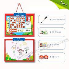 Reward Charts For Children 2 In 1 Magnetic Behaviour Chore
