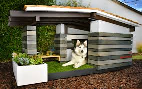 building a modern dog house made remade modern dog house ideas