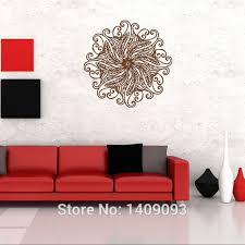 Small Picture Classic Wall Sticker Indian Style Buddhism Wall Art Decoration