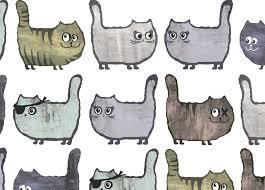 Behang Met Katten En Poezen Voor De Kinderkamer