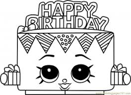 Search through 51976 colorings, dot to dots, tutorials and silhouettes. Birthday Betty Shopkins Coloring Page Coloring Pages For Kids