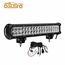 amazon com sldx 108w 17inch 7200lm spot flood combo led light bar sldx 108w 17inch 7200lm spot flood combo led light bar for off road jeep truck atv