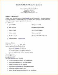 7 Resume Samples For Students Basic Job Appication Letter Student ...