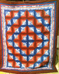 Dirty Sally's Ten Sleep Wyoming Hand made Wyoming Crafts ... & Blue/Orange Quilt Adamdwight.com