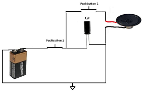 how to apply a pulse to a speaker using a capacitor capacitor applying pulse to speaker