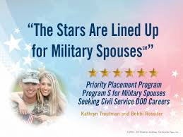 Dod Program Gives Jobs Priority To Relocated Military Spouses