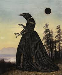 Surreal Paintings Surreal Paintings Artwork Crow By Bill Mayers 7