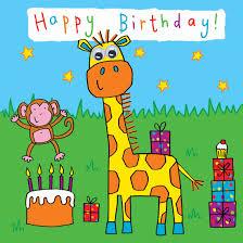 printable children s birthday cards childrens birthday card giraffe