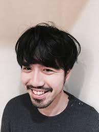 髭マッシュメンズ カットモデルアプリ Cutmoカトモプチプラ