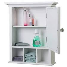 medicine cabinets for bathroom. Plain Cabinets White Medicine Cabinet By Elegant Home Fashions With Cabinets For Bathroom