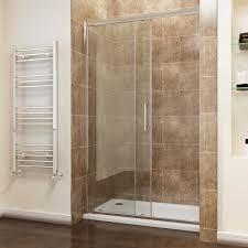 elegant sliding shower door enclosure walk in shower cubicle 8mm easy clean glass