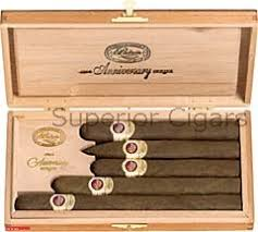 padron anniversario maduro gift pack conns 5 cigars 1 each of exclusivo torpedo imperial diplomatico and a a special release cigar