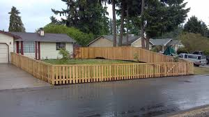 front yard fence. Spotlight Front Yard Fence Ideas Privacy Amys Office R
