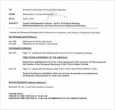 Meeting Agenda Templates Mandatory Template Memo Mandatory Meeting