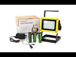 <b>30W</b> Rechargeable SMD <b>Flood Light Portable</b> Camping Lamp USB ...