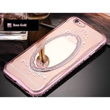 mirror iphone case. wholesale iphone 6s / 6 4.7 crystal diamond mirror case (rose gold) iphone