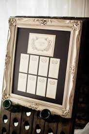 Wedding Seating Chart Frame Wedding Seating Chart Frame Google Search Wedding Deco
