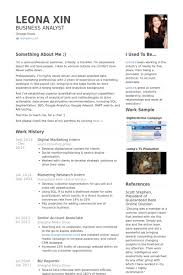 Digital Marketing Intern Resume Samples Visualcv Resume Samples