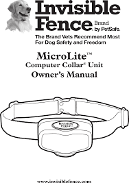 Red Blinking Light On Invisible Fence Collar 300935 Microlite Receiver User Manual 400 1086 2 Indd Radio