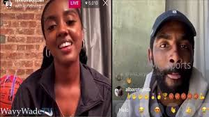 Kyrie Irving Live with His Sister Asia Irving - YouTube