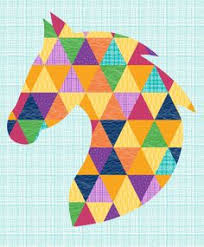 Horse Quilt Pattern Magnificent Free Printable Horse Quilt Patterns Bing Images Quilting And