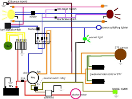 my 277 wiring diagram, is it ok?! yamaha xs650 forum 277v wiring diagram is it ok that i put the wire leading to the starter after the 20a fuse? lastly, the black wires leading from some of the lights are to ground,