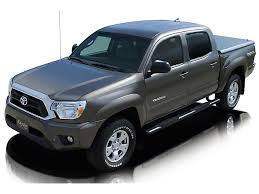 Raptor Series Tacoma 4 in. Magnum Straight Oval Side Step Bars ...