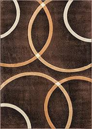 circle pattern area rugs area rugs brown modern geometric rings circles lines hand circle design area